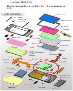 Exploded Sidekick 2009 assembly diagram
